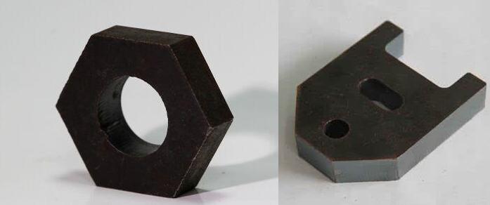 激光切割碳钢样品展示